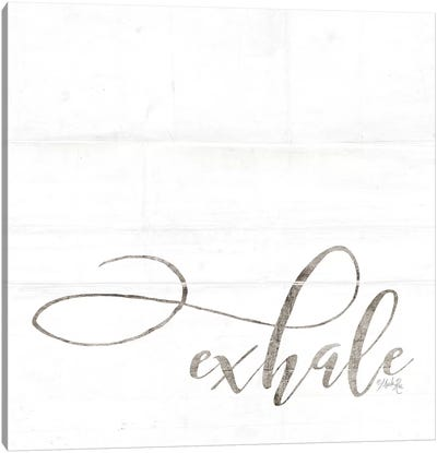 Exhale Canvas Art Print