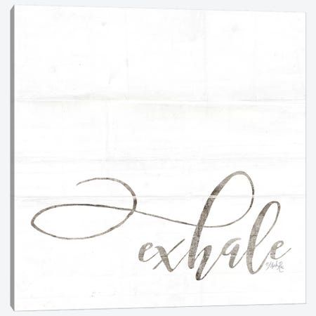 Exhale Canvas Print #MRR17} by Marla Rae Canvas Artwork