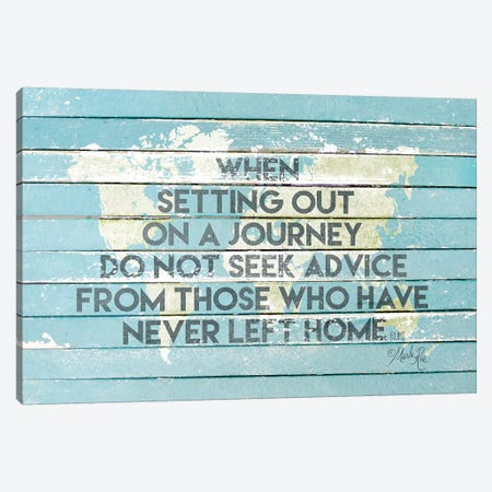 When Setting Out On A Journey Canvas Print #MRR189} by Marla Rae Canvas Art