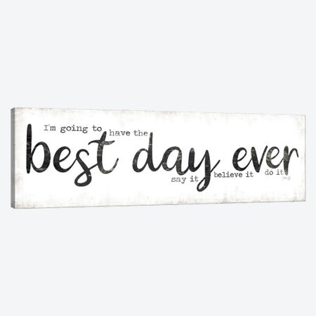 Best Day Ever Canvas Print #MRR194} by Marla Rae Canvas Art