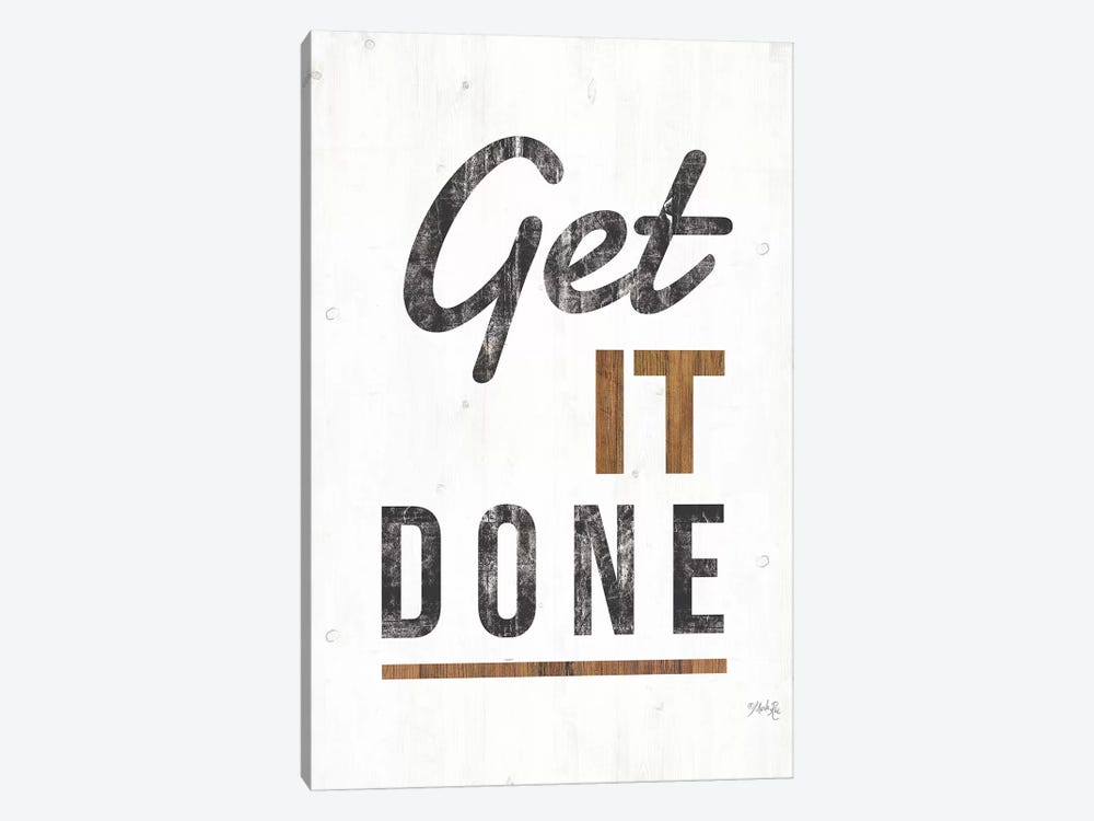 Get It Done by Marla Rae 1-piece Canvas Print