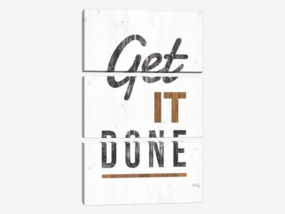 Get It Done by Marla Rae 3-piece Canvas Print