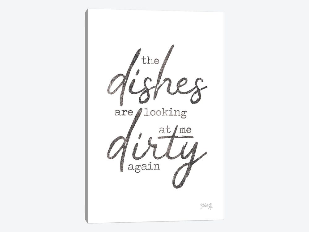Dirty Dishes by Marla Rae 1-piece Canvas Artwork
