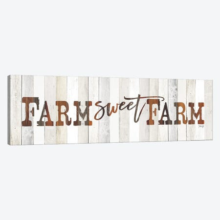 Farm Sweet Farm Canvas Print #MRR209} by Marla Rae Canvas Print