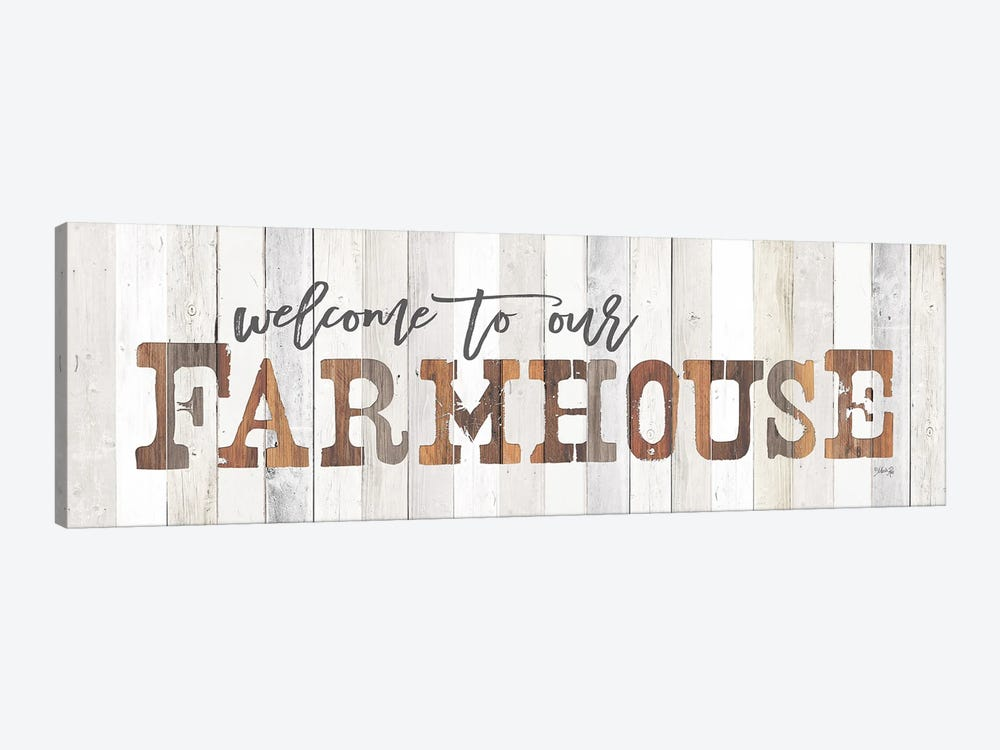 Welcome To Our Farmhouse Canvas Wall Art By Marla Rae Icanvas