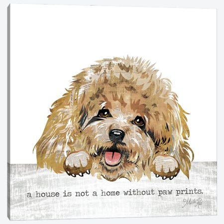 A House Is Not A Home Canvas Print #MRR218} by Marla Rae Canvas Artwork