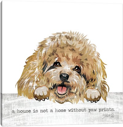 A House Is Not A Home Canvas Art Print