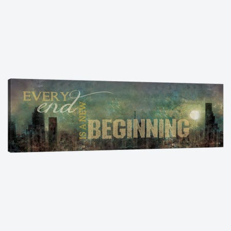 A New Beginning Canvas Print #MRR219} by Marla Rae Canvas Wall Art