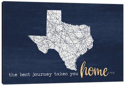Best Journey - Texas Canvas Art Print
