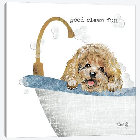 Good Clean Fun Canvas Print #MRR226} by Marla Rae Canvas Art