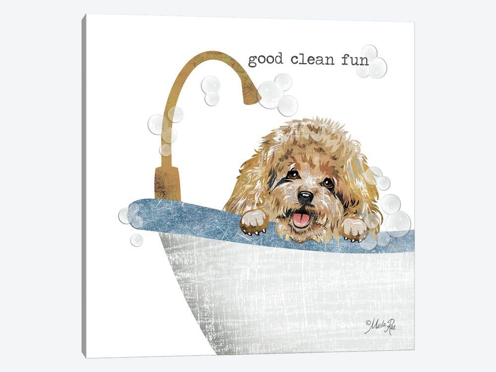 Good Clean Fun by Marla Rae 1-piece Canvas Artwork