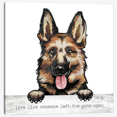 Live Like… Canvas Print #MRR231} by Marla Rae Canvas Artwork