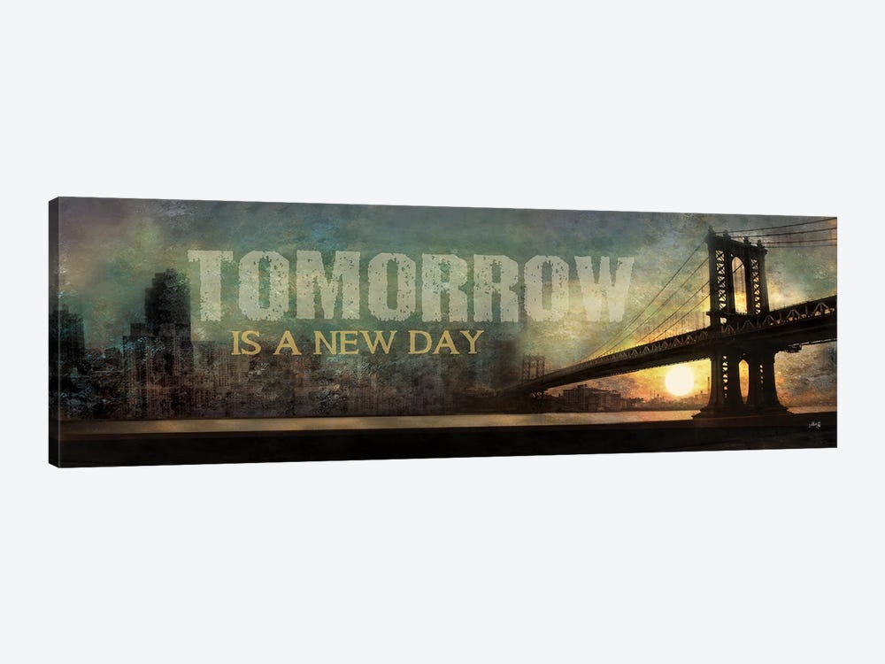 Tomorrow is a New Day by Marla Rae 1-piece Canvas Artwork
