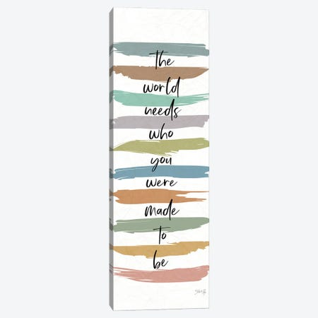 Made to Be Canvas Print #MRR245} by Marla Rae Canvas Artwork
