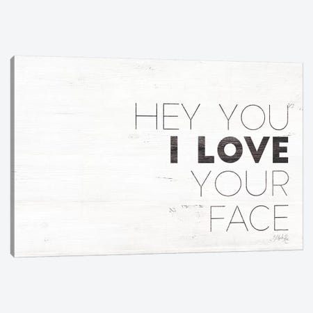 Hey You 3-Piece Canvas #MRR25} by Marla Rae Canvas Print