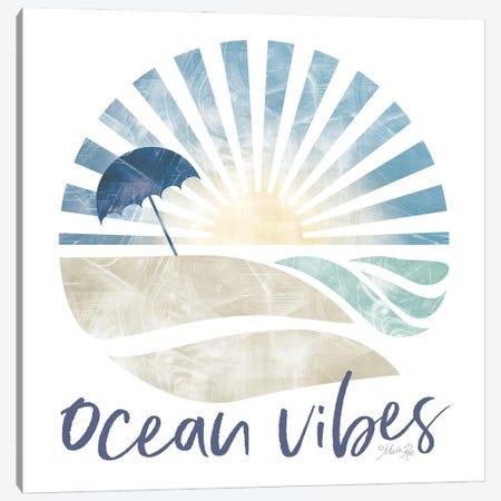 Ocean Vibes Canvas Print #MRR272} by Marla Rae Canvas Wall Art