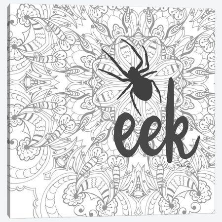 Spider Eek Canvas Print #MRR278} by Marla Rae Canvas Wall Art