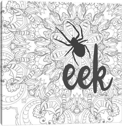 Spider Eek Canvas Art Print