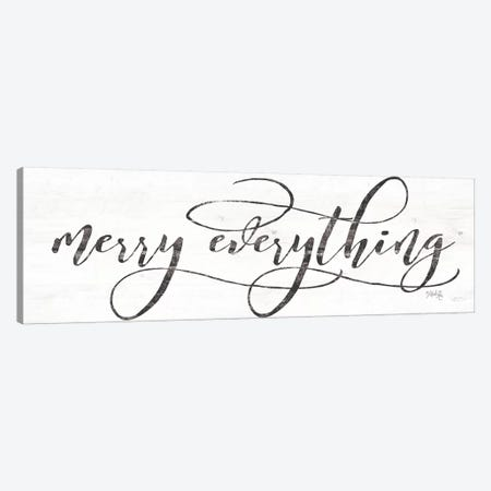 Merry Everything 3-Piece Canvas #MRR44} by Marla Rae Canvas Print