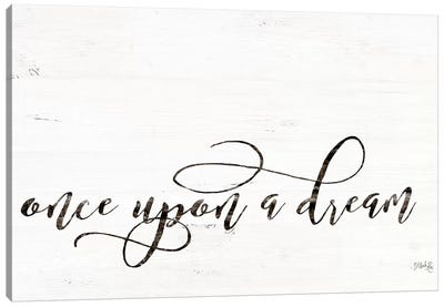 Once Upon a Dream Canvas Art Print