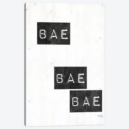 Bae Bae Bae Canvas Print #MRR5} by Marla Rae Canvas Wall Art
