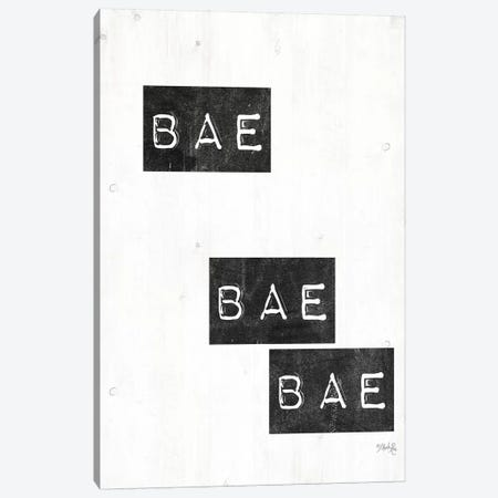 Bae Bae Bae Canvas Print #MRR5} by Marla Rae Canvas Wall Art