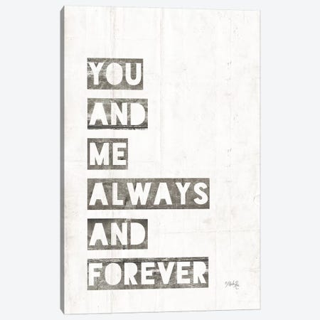 You and Me Canvas Print #MRR65} by Marla Rae Canvas Art Print