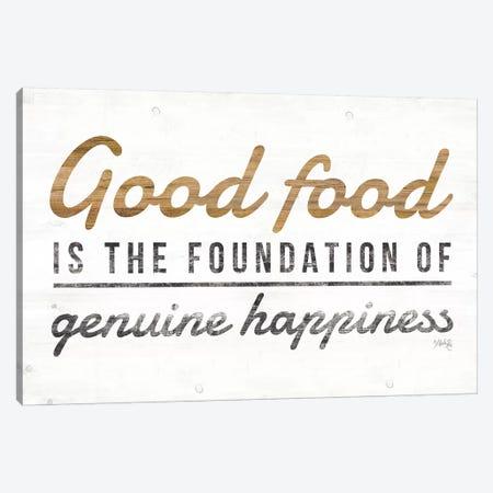 Good Food Canvas Print #MRR73} by Marla Rae Canvas Art Print
