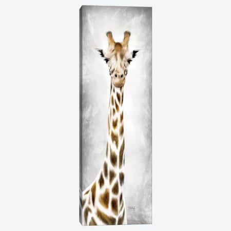 Geri the Giraffe Canvas Print #MRR90} by Marla Rae Canvas Art Print