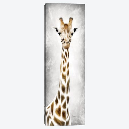 Geri the Giraffe 3-Piece Canvas #MRR90} by Marla Rae Canvas Art Print