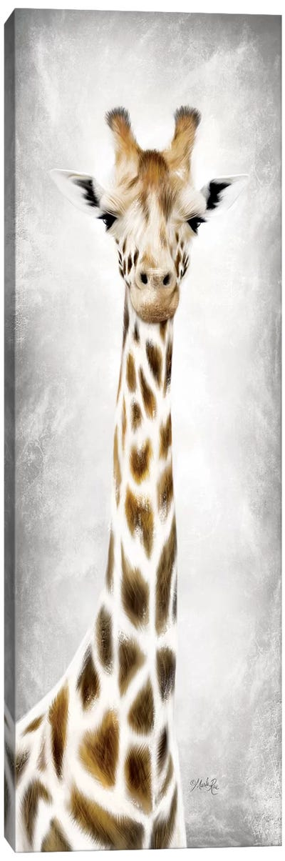 Geri the Giraffe Canvas Art Print
