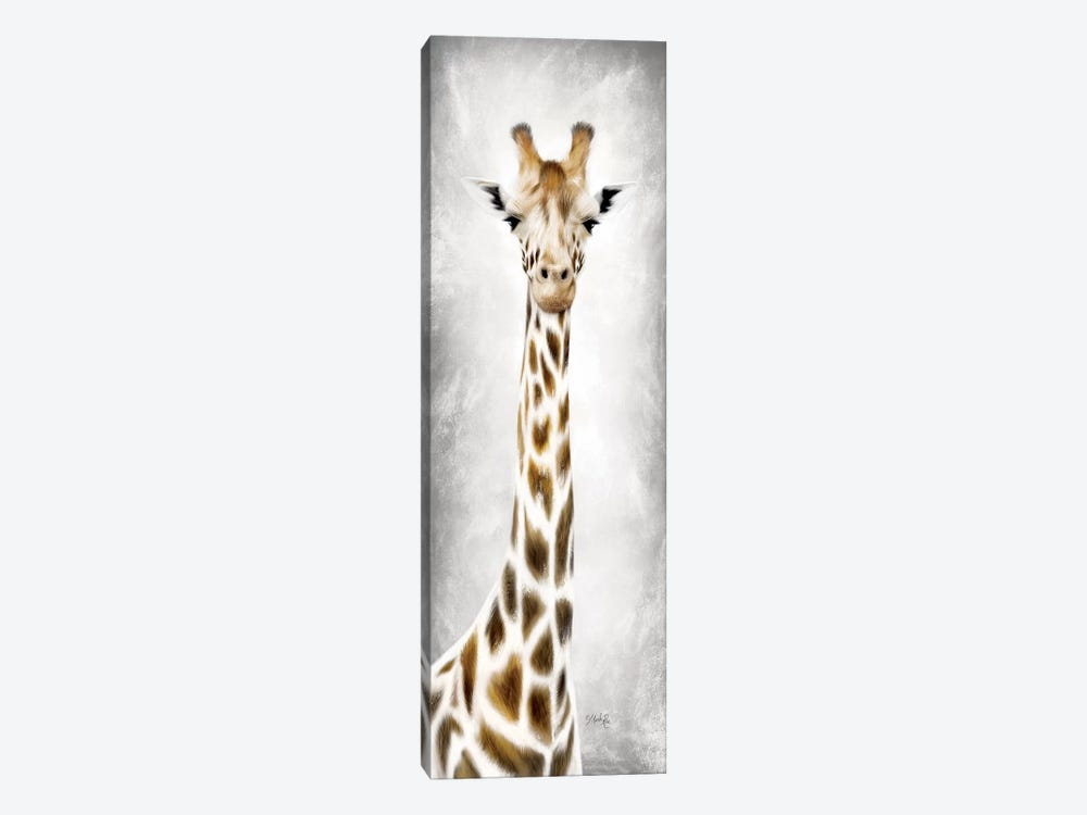 Geri the Giraffe by Marla Rae 1-piece Canvas Wall Art