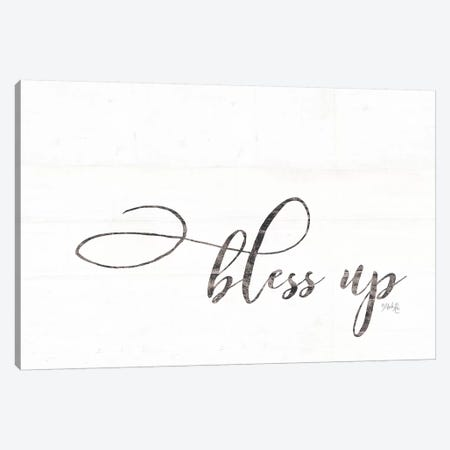 Bless Up Canvas Print #MRR9} by Marla Rae Canvas Print