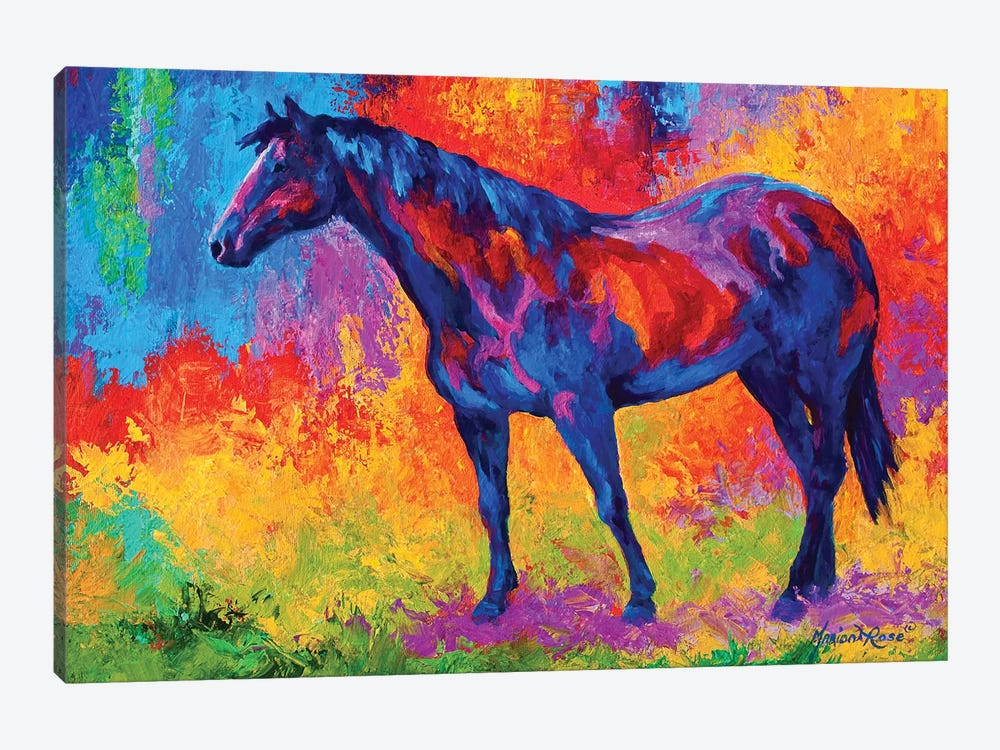 Bay Mare III 1-piece Canvas Art
