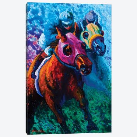 Bluebloods Canvas Print #MRS25} by Marion Rose Canvas Artwork