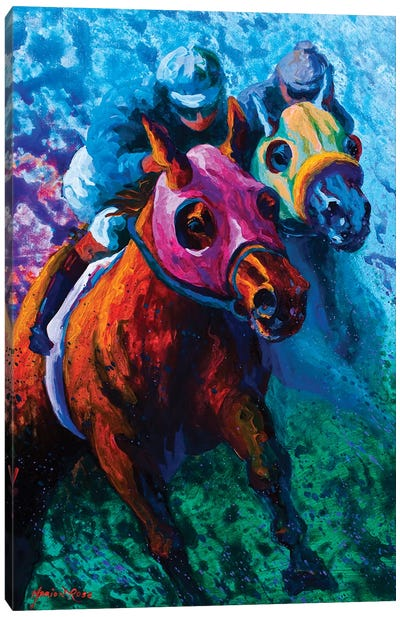Bluebloods Canvas Art Print