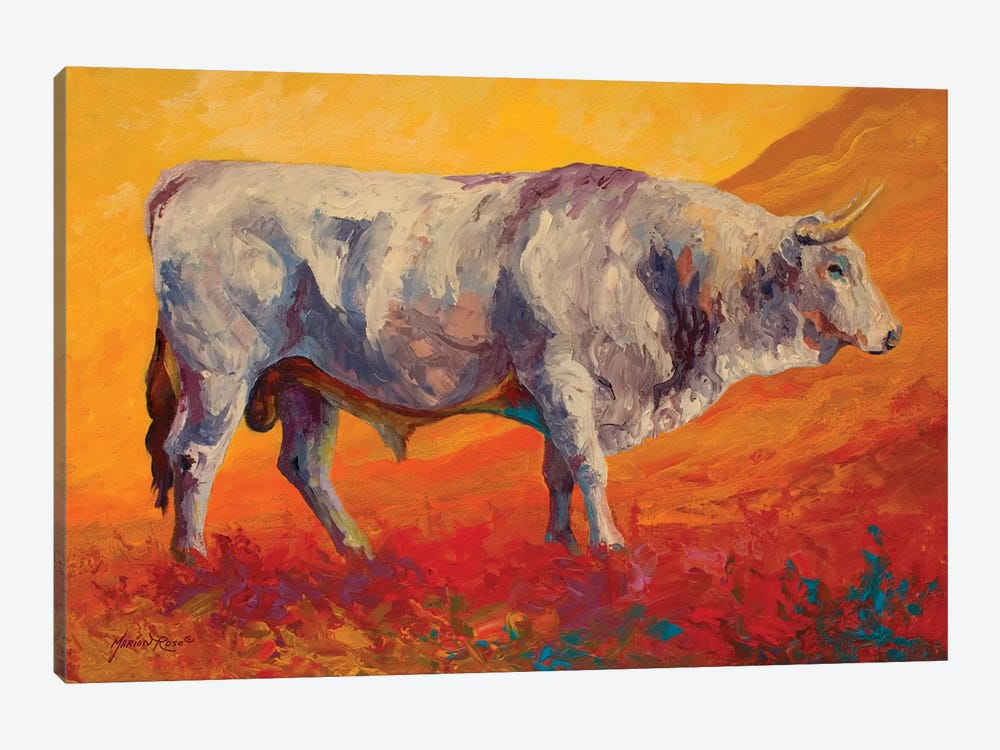 Bull Market by Marion Rose 1-piece Canvas Art