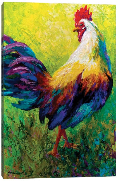 CEO Rooster Canvas Art Print