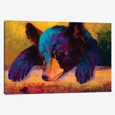 Chasing Bugs Canvas Print #MRS30} by Marion Rose Canvas Artwork