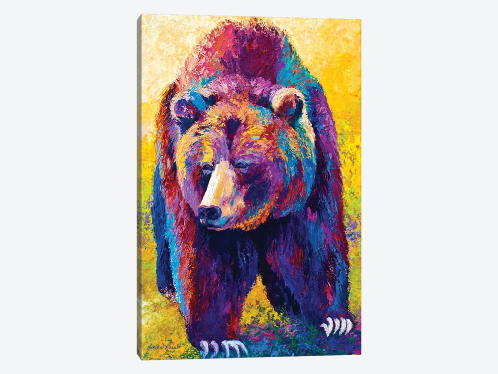 Close Encounter by Marion Rose 1-piece Canvas Art Print