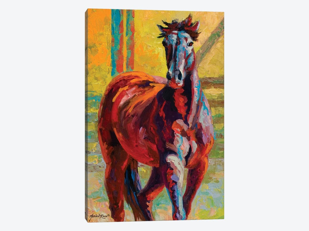 Corral Boss by Marion Rose 1-piece Art Print
