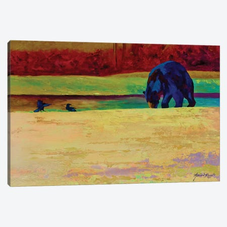 Foraging At Neets Bay 3-Piece Canvas #MRS46} by Marion Rose Canvas Artwork