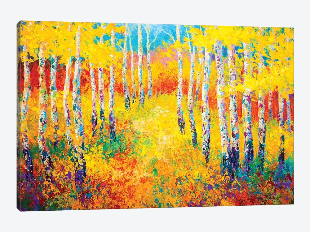 Golden Path by Marion Rose 1-piece Art Print
