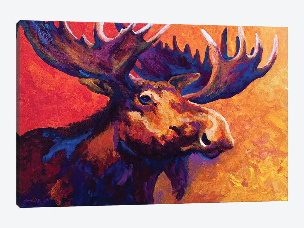 Noble Pause by Marion Rose 1-piece Canvas Wall Art