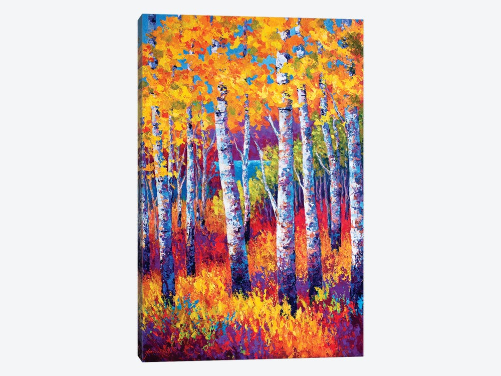 Path To The Lake by Marion Rose 1-piece Canvas Art
