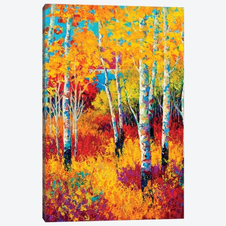 Autumn Dreams Canvas Print #MRS6} by Marion Rose Canvas Print