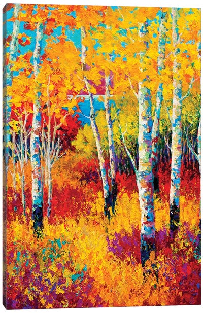 Autumn Dreams Canvas Art Print