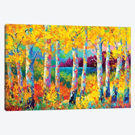 Autumn Jewels Canvas Print #MRS7} by Marion Rose Canvas Print