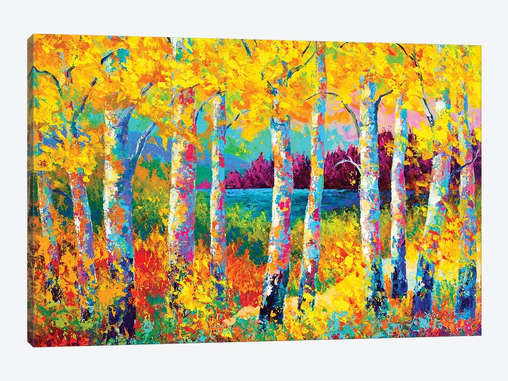 Autumn Jewels by Marion Rose 1-piece Canvas Artwork