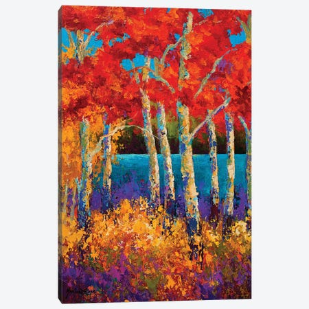 Summer's End 3-Piece Canvas #MRS83} by Marion Rose Canvas Print